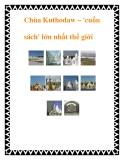 Chùa Kuthodaw – cuốn sách lớn nhất thế giới