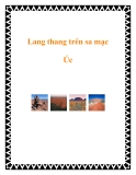 Lang thang trên sa mạc Úc
