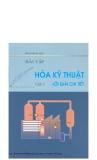 Giáo trình Bài tập Hóa kỹ thuật (Tập 2: Lời giải chi tiết) - Phạm Việt Hùng