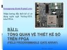 Hướng dẫn thiết kế số sử dụng ngôn ngữ Verilog-HDL trên FPGA: Bài 1