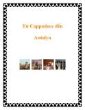 Từ Cappadoce đến Antalya