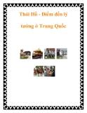 Thái Hồ - Điểm đến lý tưởng ở Trung Quốc
