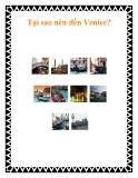 Tại sao nên đến Venice?