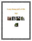 Lang thang phố cổ Hà Nội