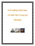 Trải nghiệm đích thực với biển Nha Trang tại Michelia