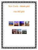 New York - thành phố của thế giới