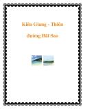 Kiên Giang - Thiên đường Bãi Sao