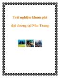 Trải nghiệm khám phá đại dương tại Nha Trang