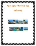 Ngất ngây 8 bãi biển đẹp nhất Italy