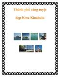 Thành phố cảng tuyệt đẹp Kota Kinabalu