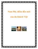 Nam Phi, điểm đến mới của du khách Việt