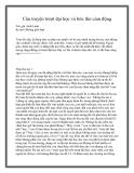 Câu truyện trượt đại học và bức thư cảm động