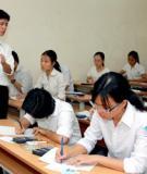 Đề thi thử tốt nghiệp môn Tiếng Anh 2013 - Phần 10 - Đề 13