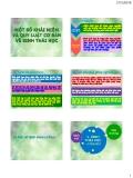 BÀI 1 Một số khái niệm và qui luật cơ bản về sinh học