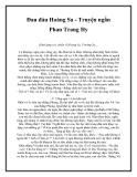 Đau đáu Hoàng Sa - Truyện ngắn Phan Trang Hy