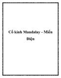 Cổ kính Mandalay - Miến Điện