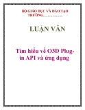 LUẬN VĂN: Tìm hiểu về O3D Plugin API và ứng dụng