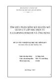 Luận văn: TÌM HIỂU PHẦN MỀM MÃ NGUỒN MỞ QUẢN LÝ LỚP HỌC ĐIỆN TỬ E-LEARNING DOKEOS VÀ ỨNG DỤNG