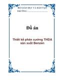 Đồ án: Thiết kế phân xưởng THDA sản xuất Benzen