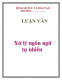 LUẬN VĂN:  Xử lý ngôn ngữ tự nhiên