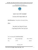 Luận văn:Tìm Hiểu Giải Thuật Di Truyền Ứng Dụng Giải Bài Toán Lập Lịch