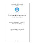 Luận văn: Nghiên cứu xây dựng ứng dụng cho hệ điều hành iOS