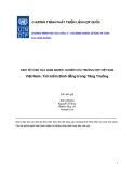 Kinh tế vĩ mô của giảm nghèo: Nghiên cứu trường hợp Việt Nam - Tìm kiếm bình đẳng trong tăng trưởng