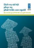 Dịch vụ xã hội phục vụ phát triển con người Báo cáo Quốc gia về Phát triển Con người năm 2011
