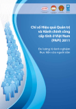 Chỉ số Hiệu quả Quản trị và Hành chính công cấp tỉnh ở Việt Nam (PAPI) 2011