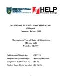 Luận văn:Phân tích và đánh giá chiến lược kinh doanh của ngân hàng TMCP Đại Dương (OCEANBANK)