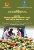 Những lựa chọn chiến lược để phát triển nông nghiệp và nông thôn Việt Nam
