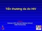 Tổn thương da do HIV