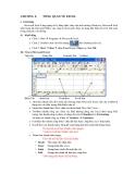 Lý thuyết Microsoft Excel