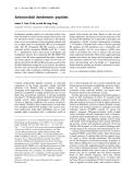 Báo cáo Y học: Antimicrobial dendrimeric peptides
