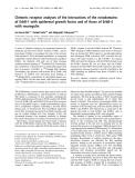 Báo cáo Y học:  Chimeric receptor analyses of the interactions of the ectodomains of ErbB-1 with epidermal growth factor and of those of ErbB-4 with neuregulin