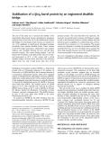 Báo cáo Y học:  Stabilization of a (ba)8-barrel protein by an engineered disulfide bridge