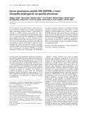 Báo cáo Y học: Ductus ejaculatorius peptide 99B (DUP99B), a novel Drosophila melanogaster sex-peptide pheromone