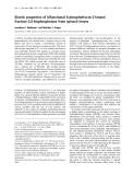 Báo cáo Y học: Kinetic properties of bifunctional 6-phosphofructo-2-kinase/ fructose-2,6-bisphosphatase from spinach leaves