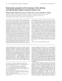 Báo cáo Y học: Electrostatic properties of the structure of the docking and dimerization domain of protein kinase A IIa