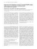 Báo cáo Y học: Exploration of the diaphorase activity of neutrophil NADPH oxidase Critical assessment of the interaction of iodonitrotetrazolium with the oxidase redox components