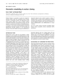 Báo cáo Y học: Chromatin remodeling in nuclear cloning