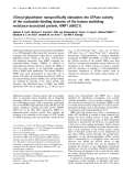 Báo cáo Y học: S-Decyl-glutathione nonspecifically stimulates the ATPase activity of the nucleotide-binding domains of the human multidrug resistance-associated protein, MRP1 (ABCC1)