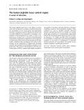 Báo cáo Y học:  The human b-globin locus control region A center of attraction