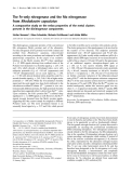 Báo cáo Y học: The Fe-only nitrogenase and the Mo nitrogenase from Rhodobacter capsulatus A comparative study on the redox properties of the metal clusters present in the dinitrogenase components