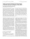 Báo cáo Y học:  Cloning, chromosomal localization and characterization of the murine mucin gene orthologous to human MUC4