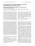 Báo cáo Y học: Herbaspirillum seropedicae signal transduction protein PII is structurally similar to the enteric GlnK