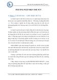 Tiểu luận: Phương pháp điện thế nút