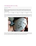 Tuyệt phẩm điêu khắc trên vỏ trứng