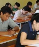 Đề thi công chức môn Tiếng Anh trình độ B