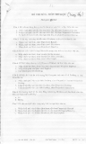 Đề thi công chức môn Tin học: Đề 5